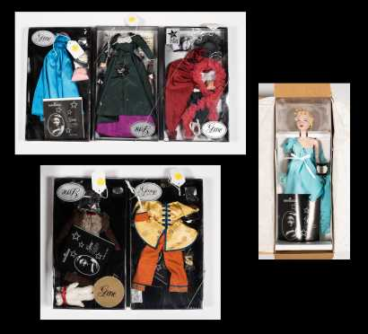 One Gene Doll with Five Outfits