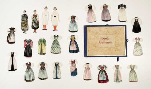 """Swiss Costumes"" Paper Doll Set"