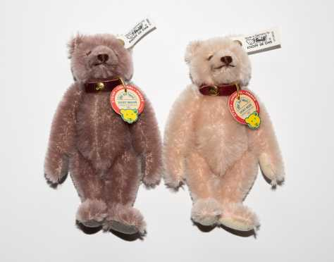 "Lot of Two Steiff 7"" Bears"