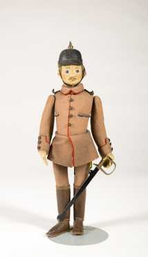 Steiff Soldier with Sword