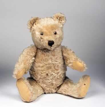 Blonde Mohair Teddy Bear