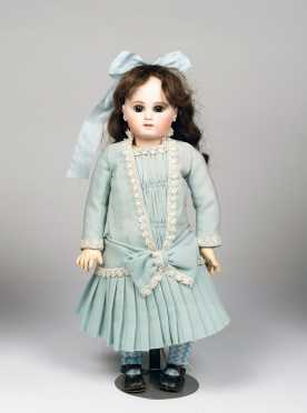 "17"" Jumeau French Bebe Doll"