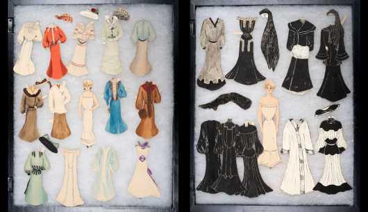 C1895-1910 Paper Dolls