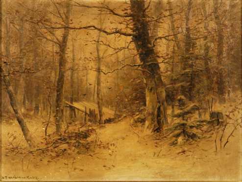 DuBois Fenelon Hasbrouck  oil on canvas
