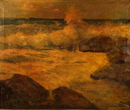 19th century Seascape Painting