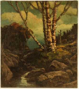 William H. Weisman  oil on canvas