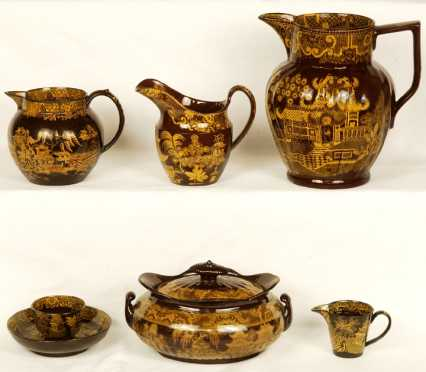 Portobello-Ware Tea-set, 18th century