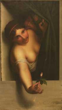 Emil Preuss, oil on canvas