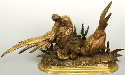 Paul Edward DeLabrierre,  bronze casting