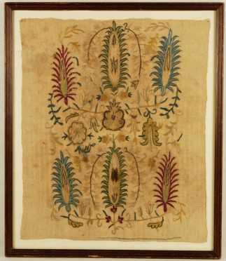 Continental Needlework on linen