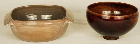 Two Scheier Pottery Bowls