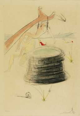 Salvador Dali, limited edition lithograph