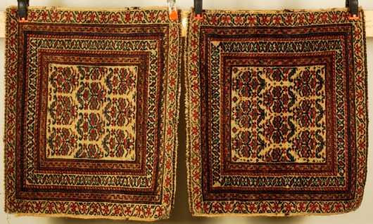 Pair of Kurdish Bag Faces