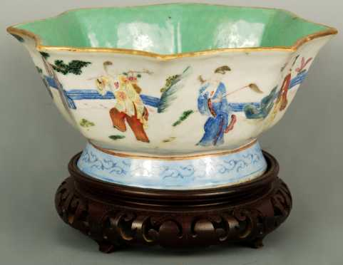 Polychrome Chinese Bowl