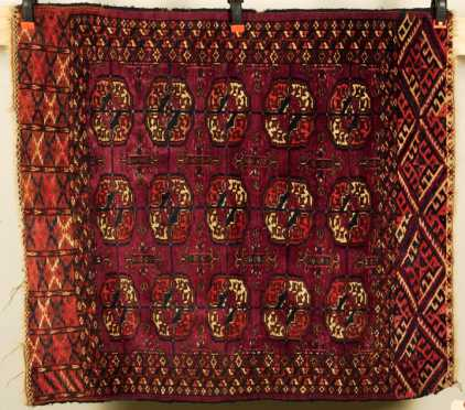 Tekke Bokhara Scatter Oriental Rug