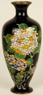 Japanese Cloisonné Bud Vase