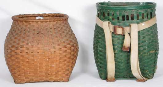 Two Splint Pack Baskets