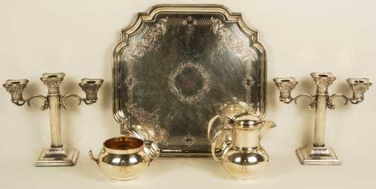 5 Pieces of Silver Plate