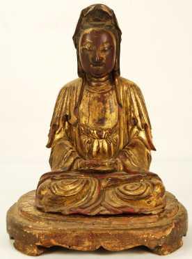 Southeast Asian Cast Bronze Buddha