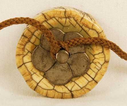 Oriental Ivory Button