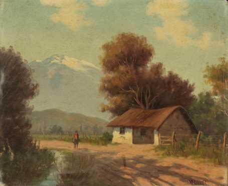 Calos Vazquez, oil on canvas