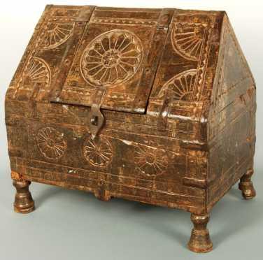 17th Century Franco-Flemish Spice/Salt Box