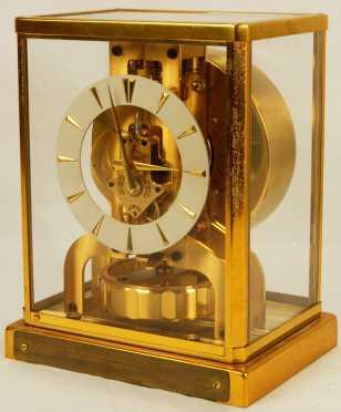 Le Coultre, Atmos, Perpetual Motion Clock, circa 1950's