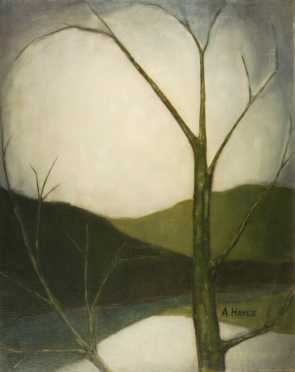 A. Hayes, oil on canvas
