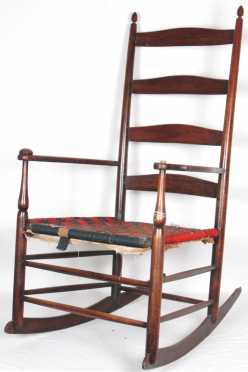 Shaker Rocking Arm Chair