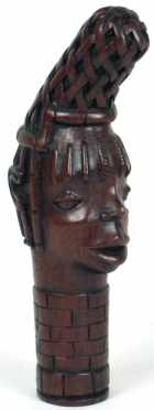 African Hardwood Female Bus