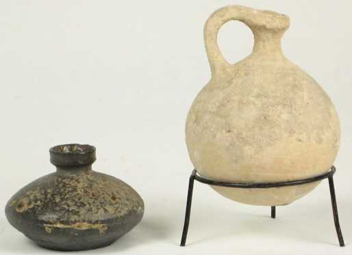 Two Ancient Ceramic Vessels
