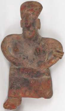 Pre- Columbian Terracotta Fertility Figure