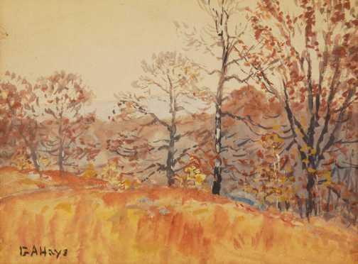 George Arthur Hays, watercolor