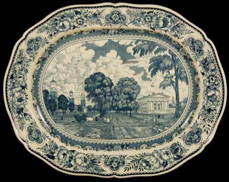 Wedgwood Scenic platter