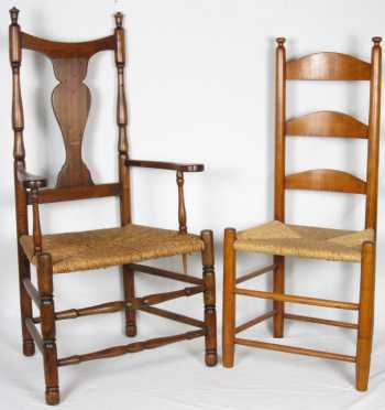 Two Maple Chairs