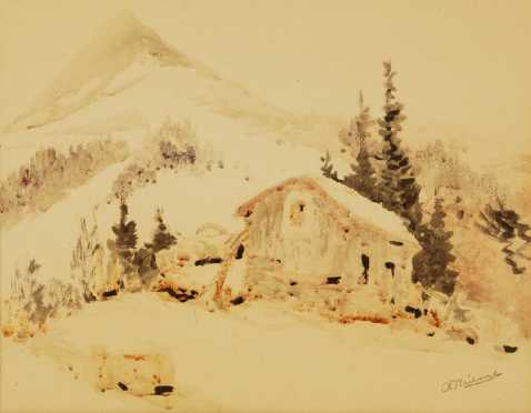 Anthony Thieme, watercolor