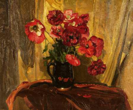 Joseph Bail, oil on canvas