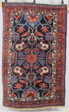 Bijar Oriental Scatter Rug