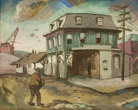 Frederick Rhodes Sisson, oil on canvas