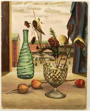 Frederick Rhodes Sisson, oil on Masonite