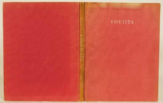 Book- Foujita, Leonard Tsugoharu,   Limited Signed First Edition - A Book of Cata