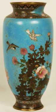 Antique Cloisonné Vase