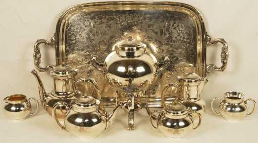 Gorham Silver Plated Tea/Coffee Service