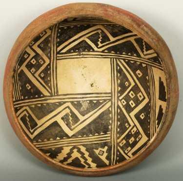 Anasazi School Pottery Bowl