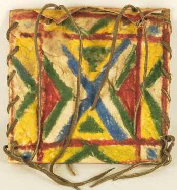 Native American Teepee Bag