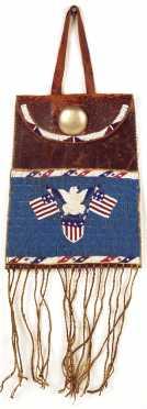 Native American Dispatch Bag
