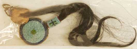 Native American Bead & Hair Decoration