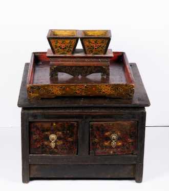 Lot of Three Tibetan Items