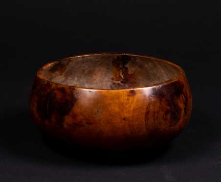 Hawaiian Kou Wood Bowl