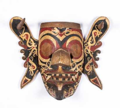 Documented Indonesian Mask